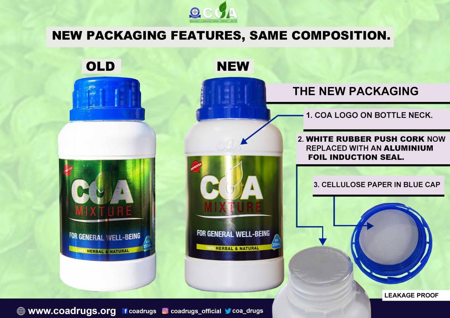 coa new package