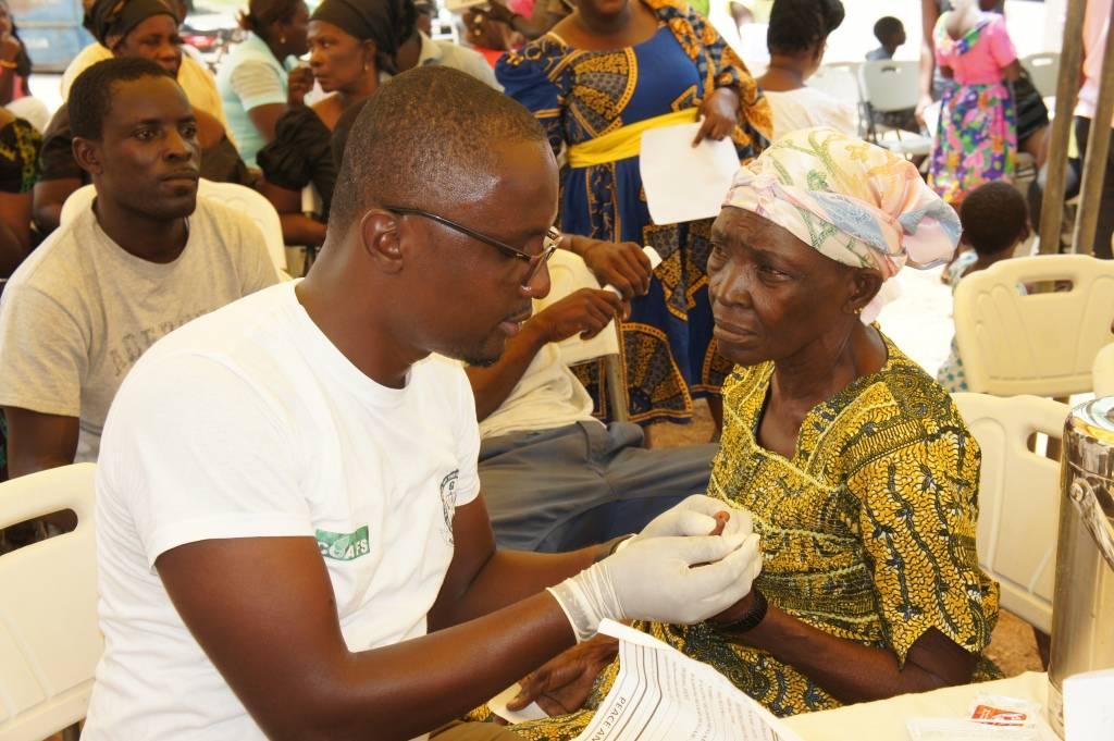 COA Healthcare Centre in an outreach