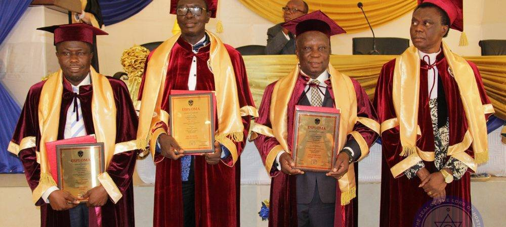 HONORARY PROFESSORIAL AWARD CONFERRED ON DR. ATO DUNCAN