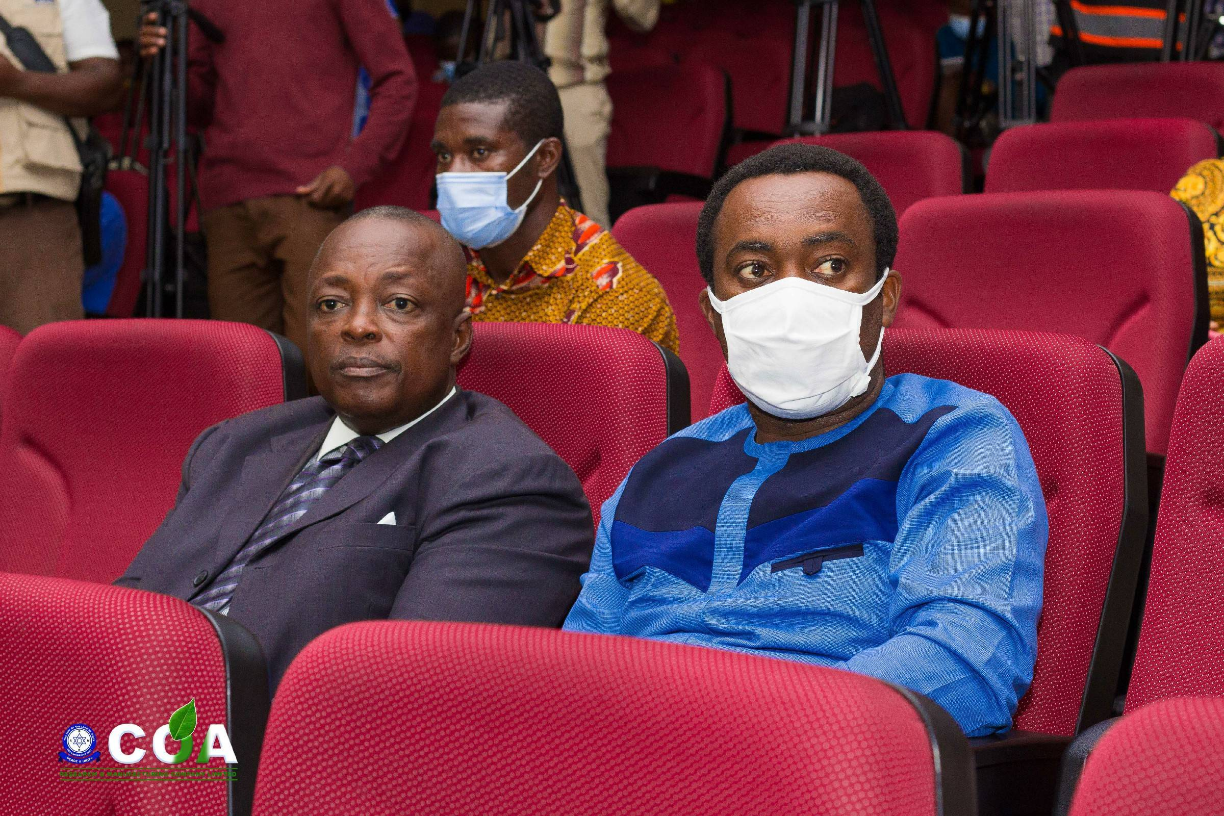 Our Administrator, Dr. Mathew Nsiah Agyeman with Dr. Mawuli