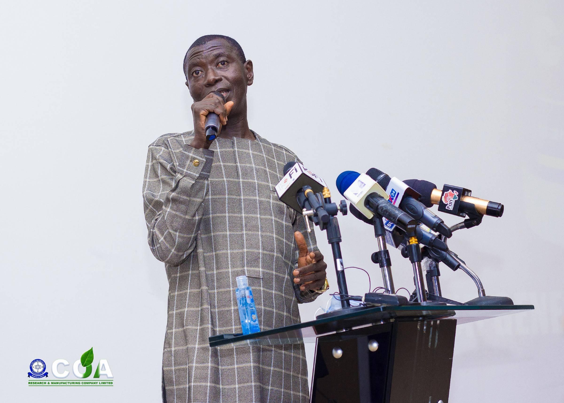 Executive President & C.E.O. Prof. Samuel Ato Duncan